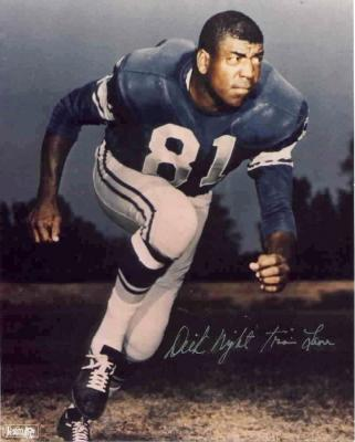 Dick (Night Train) Lane autographed Detroit Lions 8x10 photo
