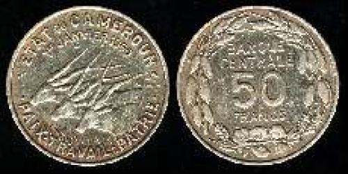 50 francs 1960 (km 13)
