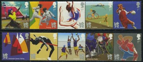 Olympic &amp; paralympic games 10v (2x[::::])