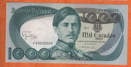 Portugal 1000es 1980