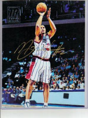 Maurice Taylor Houston Rockets Topps 8x10 canvas art print certified autograph
