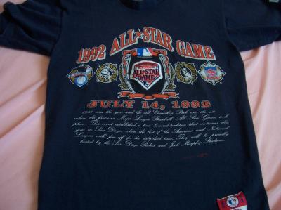 1992 MLB All-Star Game (San Diego) T-shirt