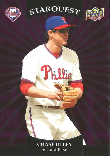 2009 Upper Deck Starquest Common Purple #SQ-5 ~ Chase Utley