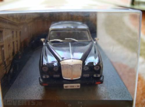 mini copy of the car James Bond 007 in the film Casino Royale
