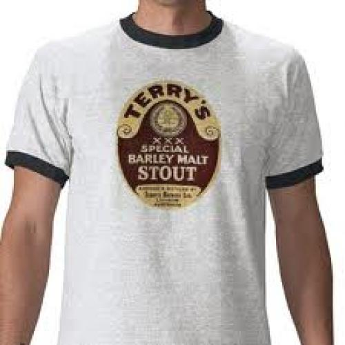 Terry's Stout Vintage Beer Label Tshirt by kingisbyre