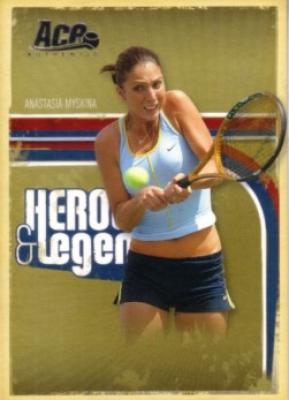 Anastasia Myskina 2006 Ace Authentic card