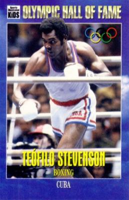 Teofilo Stevenson Olympic Hall of Fame Sports Illustrated for Kids card