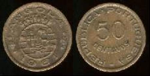 50 centavos; Year: 1953-1961; (km 75)