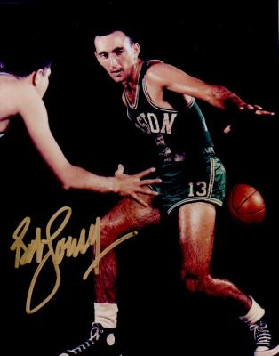Bob Cousy autographed Boston Celtics 8x10 photo