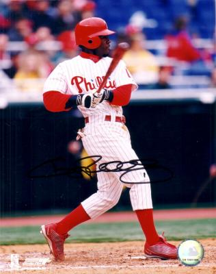 Jimmy Rollins autographed 8x10 Philadelphia Phillies photo