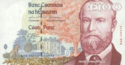 Banknotes; Ireland Republic 100Pounds‑1996