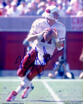 Kent Graham autographed 8x10 Cardinals photo