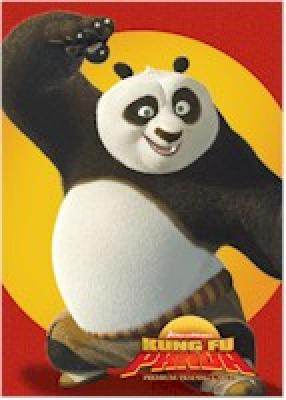 Kung Fu Panda movie 2008 Inkworks promo card P-1