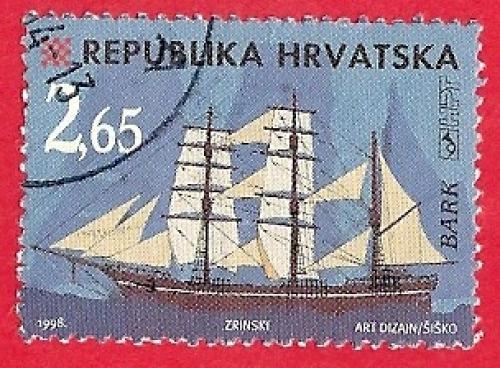 HRVATSKO BRODOVLJE - BARK, XVIII. i XIX. STOLJEĆE