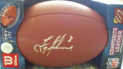 Troy Aikman autographed full size NFL replica football