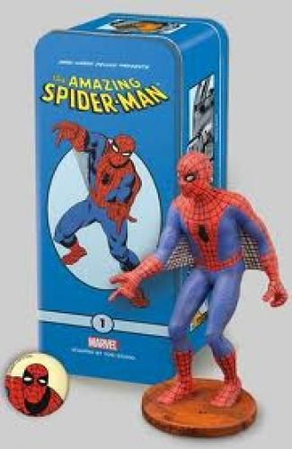 Spiderman Figurine toy with Box