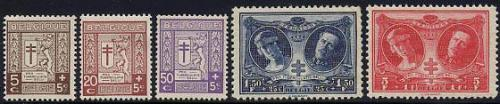 Anti tuberculosis 5v; Year: 1926