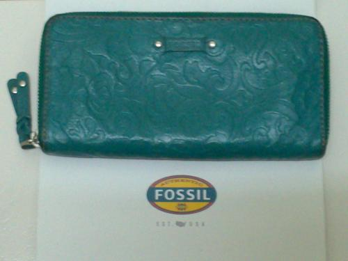Fossil Long Wallet/Purse (Genuine Leather)
