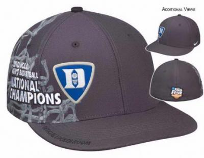 Duke 2010 NCAA Basketball National Champions Nike locker room cap or hat