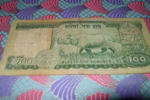 Nepal-100 rupees-1981