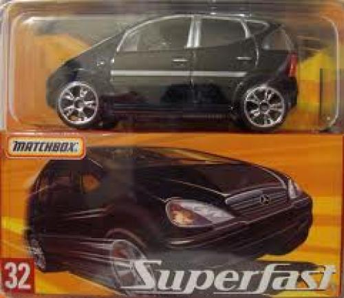 Cars 2005 Superfast #32 MERCEDES-BENZ A-CLASS
