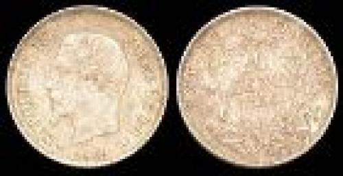20 centimes; Year: 1853-1863; (km 778)