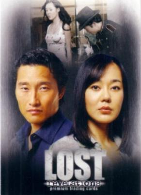 LOST Revelations 2006 Comic-Con promo card LR-4 (Jin &amp; Sun)