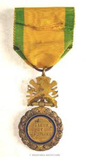Militaria; FRANCE REPUBLIC MILITARY MEDAL