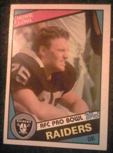1984 Howie Long Rookie