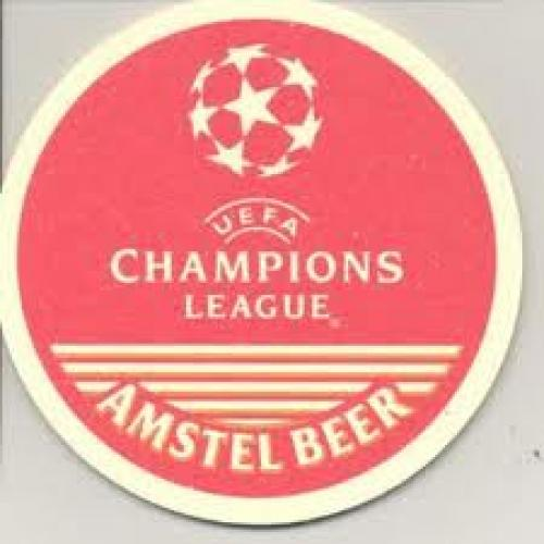 Champions League souvenir beer matt
