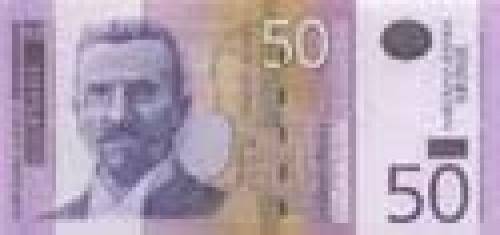 50 Serbian dinar; Serbian banknotes