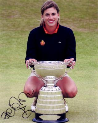 Belen Mozo autographed 2006 British Women's Amateur Championship 8x10 photo