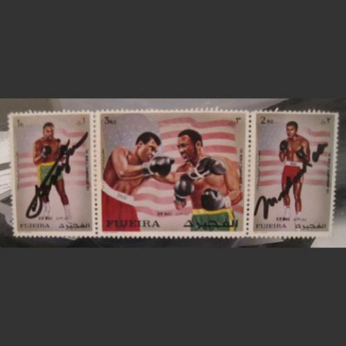 Smokin Joe Frazier Stamps