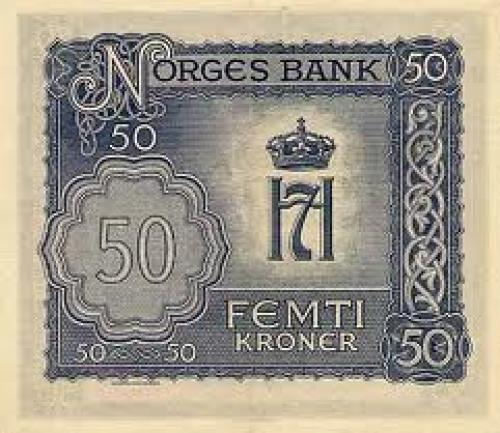 Norway Banknotes 50 Kroner 1944