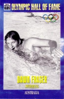 Dawn Fraser Olympic Hall of Fame Sports Illustrated for Kids card