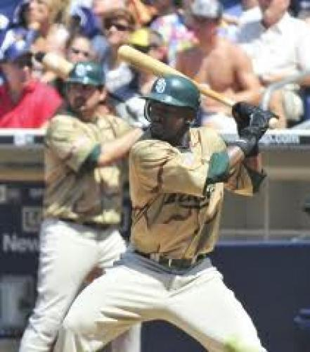Baseball Card; Dodgers; Tony Gwynn and Bip Roberts Take Baseball Cards
