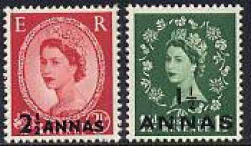 Overprints 2v; Year: 1952