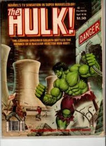 Comics; The Hulk 20 Magazine Marvel Comics 1980