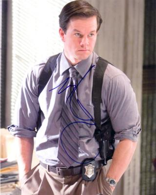 Mark Wahlberg autographed Departed 8x10 photo