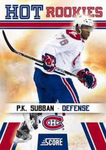 2010-11 Panini Score Hockey; P.K Subban