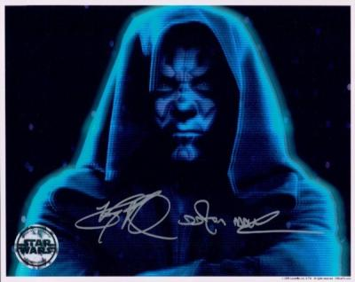 Ray Park autographed Star Wars 8x10 photo inscribed Darth Maul