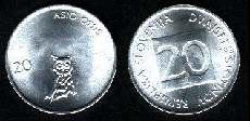 20 stotinov 1992-1995 (km 8)