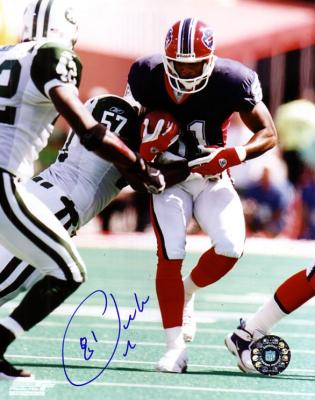 Peerless Price autographed 8x10 Buffalo Bills photo