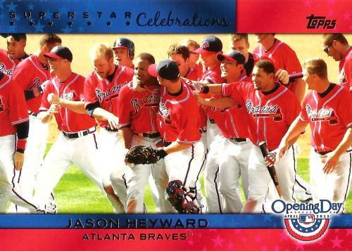 2011 Topps Opening Day Superstar Celebrations #SC1 ~ Jason Heyward