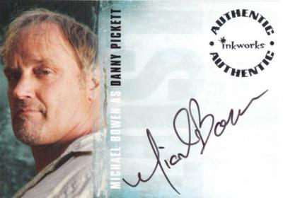 Michael Bowen LOST certified autograph card