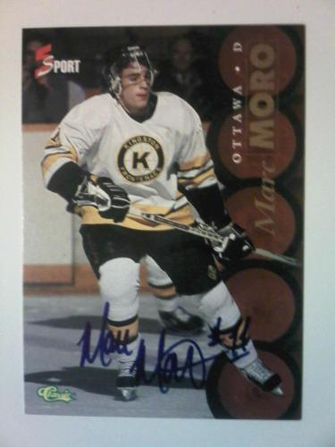 1995 Classic 5 Sport: Marc Moro Autograph