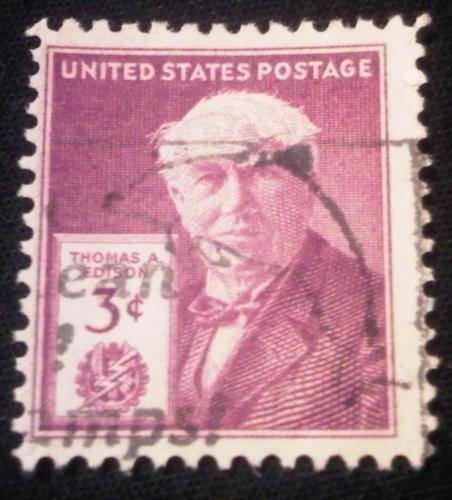 1947 Thomas Edison Stamp