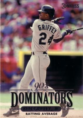 Ken Griffey Jr. 1994 Donruss Dominators jumbo card (#/10000)